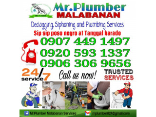 Mr.Plumber Declogging and Siphoning Services 09074491497