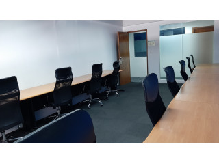 Fitted Window Office Space for Lease in Makati Good for 12 Employees