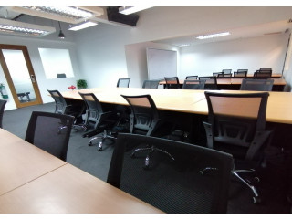 30-Seater BPO Office for Rent in Makati with 2 Internal Rooms