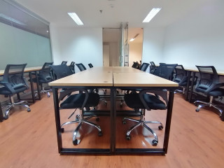 Fully-Furnished Office for Lease in Makati 43SQM