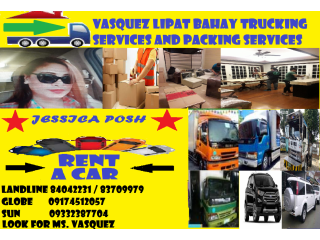 VASQUEZ LIPAT BAHAY TRUCK PACKING AND CAR RENTAL SERVICES