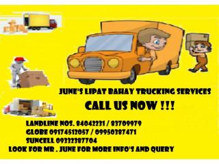 JUNE'S TRUCK RENTAL LIPAT BAHAY SERVICES