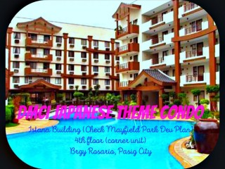 DMCI Japanese Theme Condo For Sale