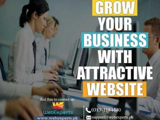 We create your stunning websites