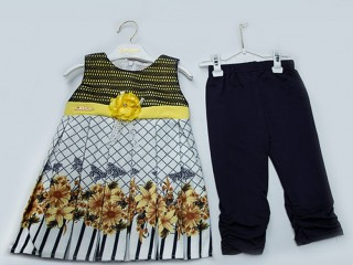 Baby Girls printed frocks for summer wholesale price in pakistan