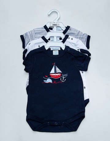 lovely-newborn-baby-clothes-100-cotton-short-sleeves-baby-rompers-summer-in-karachi-big-0