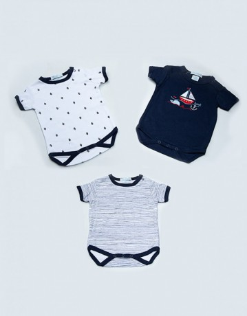 lovely-newborn-baby-clothes-100-cotton-short-sleeves-baby-rompers-summer-in-karachi-big-1