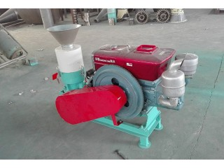 Household Pellet Mill for Small Scale Pellet Production