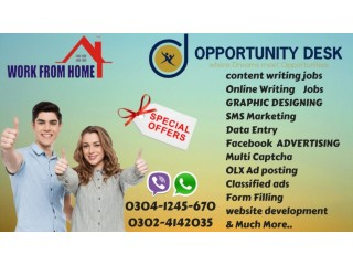 GET a best chance to do some online work