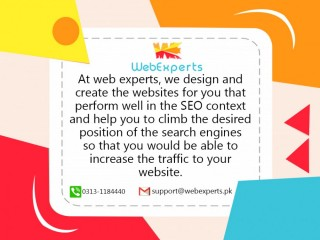 Design your attractive web pages by WebExperts