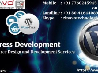 Wordpress Website Development Company   Zinavo