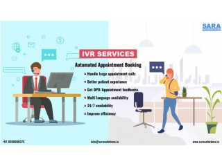 Get Best interactive voice response (IVR) service, India