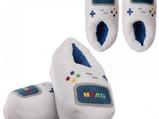 Game Controller Unisex Plush Slippers