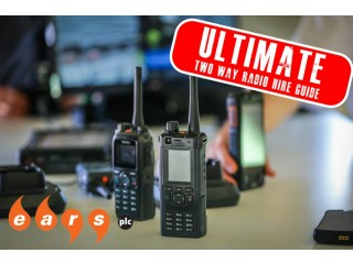 Ultimate Motorola Two Way Radios Equipment Hire Guide