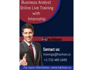 Business Analyst Online Live Training with Internship
