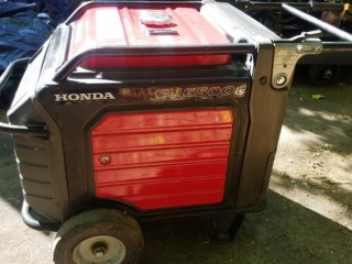 Honda EU 6500 inverter style generator