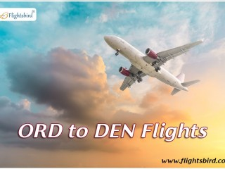 Book Cheap Flights from ORD to DEN with Flightsbird and save up to $150 OFF