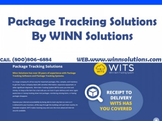 Package Tracking Solutions By WINN Solutions