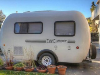 2010 EggCamper Fiberglass 17' Travel Trailer