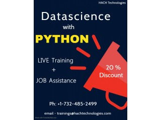 Data science with Python online training in USA