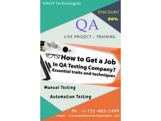 QA Online Training in Hawaii