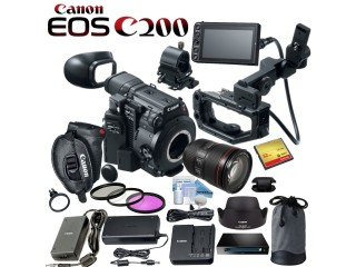 Canon EOS C200 EF Cinema Camera,Canon EOS 5D Mark IV DSLR Camera,Canon EOS M50 + More.