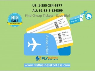 Get cheap business class flight tickets
