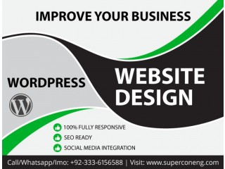 Professional Wordpress website Designing