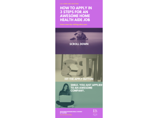 It's Easy to Apply In 3 Steps For An Awesome Home Health Aide Job – Home Health Aide Classes