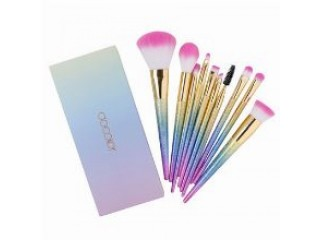 Docolor 10-Piece Fantasy Makeup Brush Set