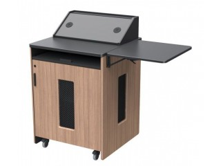 Height Adjustable Lectern - Multimedia Furniture