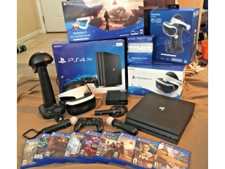 Sony PS4 1TB Pro Console with 8 games $150 bona nza sales