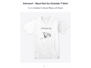 Introvert T-Shirts