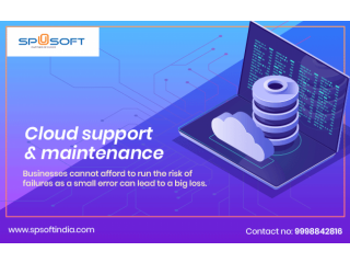 Cloud Support & Maintenance | SPSOFT