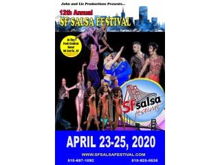 12th Annual San Francisco Salsa Festival, April 23-25, 2020