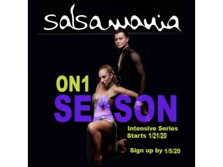 Oakland On1 Intense Salsa Series starts January 21, 2020