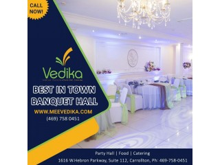 Indian Party halls near me | Vedika | Indian Catering Services