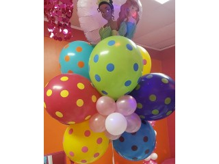 Trendy Party Decorations with Balloon Arch and Column Kits