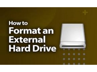 Reformat a hard drive in Windows 7, 8, 10