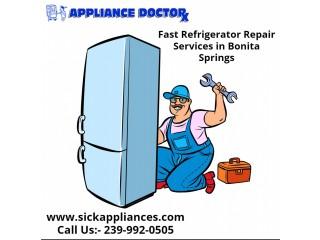 Get Fast Refrigerator Repair Services in Bonita Springs