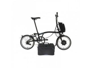 Brompton M6L 2020 Electric Folding Bike with city bag (USD 2332)