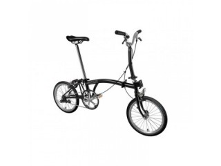 Brompton M1E 2020 Folding Bike Black (USD 706)