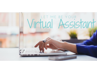 I will be your virtual assistant, remote assistance, hire a virtual assistant