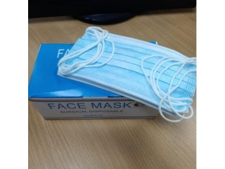Medical Face Masks Ear Loop 3 ply For Sale