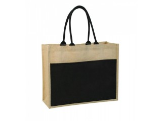 Jute Shopping Bag, Promotional Jute Shopping Bag