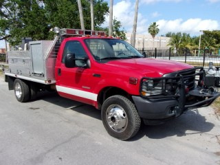 2004 Ford F-550 4x4 Brush Quick Attack Truck