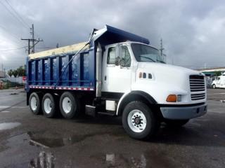 1997 Ford LT9513 Louisville Tri-axle Dump Truck