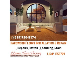 Hardwood Floors Installation and Repair