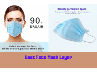 The Best Face Mask 3 Layer