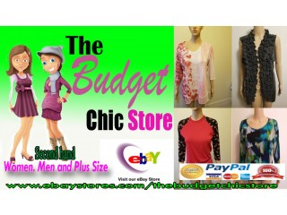 The Budget Chic Store: An Ebay Online Clothing/Thrift Store
